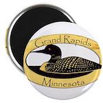 Grand Rapids Loon Magnet