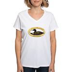 Grand Rapids Loon Women's V-Neck T-Shirt