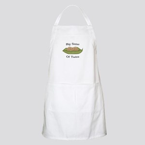 Big Sister Of Twins BBQ Apron
