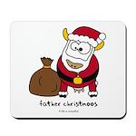Father Christmoos Mousepad
