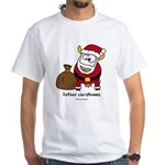 Father Christmoos White T-Shirt