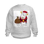 Father Christmoos Kids Sweatshirt