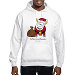 Father Christmoos Hooded Sweatshirt