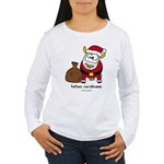 Father Christmoos Women's Long Sleeve T-Shirt