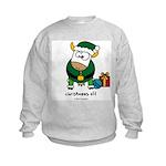 Christmoos Elf Kids Sweatshirt