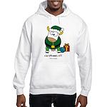 Christmoos Elf Hooded Sweatshirt