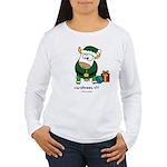 Christmoos Elf Women's Long Sleeve T-Shirt