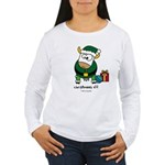 Christmoos Elf Women's Long Sleeve T-Shirt