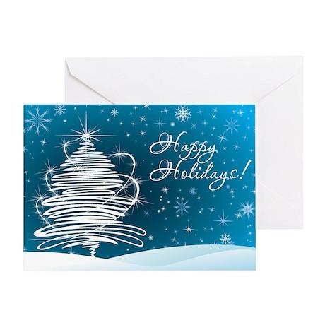 Stellar Holiday Greeting Card