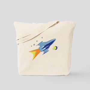 Rocket bound Tote Bag