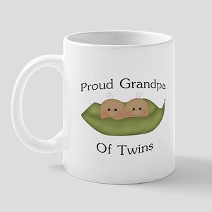 Proud Grandpa Of Twins Mug