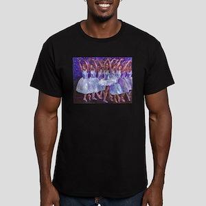 Nutcracker Snow Dance Men's Fitted T-Shirt (dark)