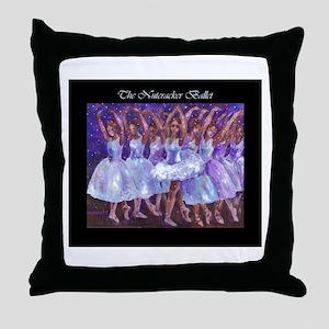 Nutcracker Snow Dance Throw Pillow