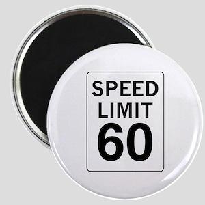 Speed Limit 60 Magnet
