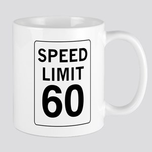 Speed Limit 60 Mug