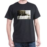 Snowed-in Front Street Dark T-Shirt
