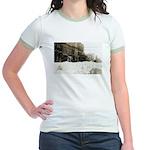 Snowed-in Front Street Jr. Ringer T-Shirt