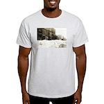 Snowed-in Front Street Light T-Shirt