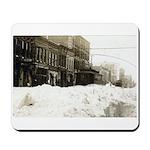 Snowed-in Front Street Mousepad