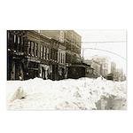 Snowed-in Front Street Postcards (Package of 8)