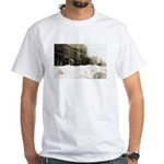 Snowed-in Front Street White T-Shirt