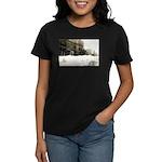 Snowed-in Front Street Women's Dark T-Shirt