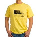 Snowed-in Front Street Yellow T-Shirt