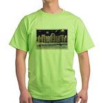 1937 Winter Carnival Ice Palace Green T-Shirt