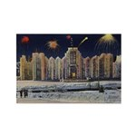 1937 Winter Carnival Ice Palace Rectangle Magnet