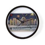 1937 Winter Carnival Ice Palace Wall Clock