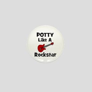 Potty Like A Rockstar with Gu Mini Button