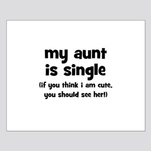 My Aunt Is Single Small Poster