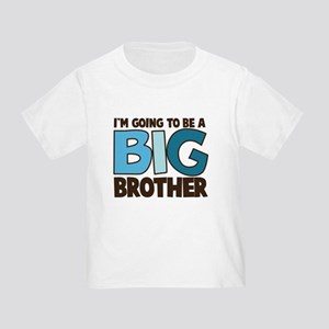 i'm going to be a big brother t-shirt Toddl