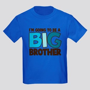 i'm going to be a big brother t-shirt Kids Dark T-
