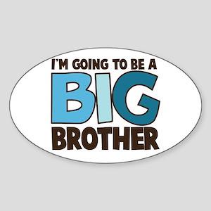 i'm going to be a big brother t-shirt Sticker (Ova