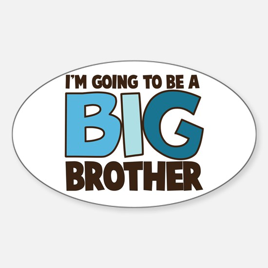 i'm going to be a big brother t-shirt Decal
