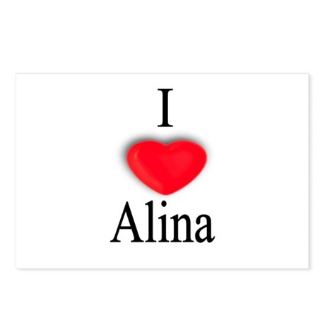 Alina Postcards (Package of 8)