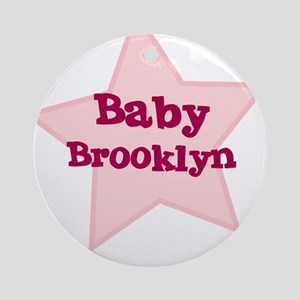 Baby Brooklyn Ornament (Round)