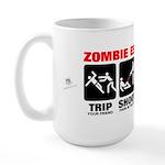 Zombie Escape Plan Large Mug