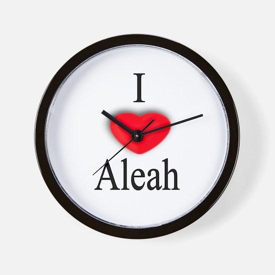 Aleah Wall Clock