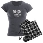 DD 214 Alumni Women's Charcoal Pajamas