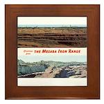 Mesaba Iron Range Framed Tile