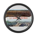 Mesaba Iron Range Large Wall Clock