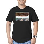 Mesaba Iron Range Men's Fitted T-Shirt (dark)