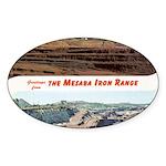 Mesaba Iron Range Oval Sticker (50 pk)