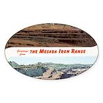 Mesaba Iron Range Oval Sticker