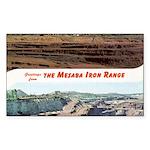Mesaba Iron Range Rectangle Sticker 50 pk)