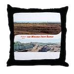 Mesaba Iron Range Throw Pillow