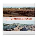 Mesaba Iron Range Tile Coaster