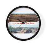 Mesaba Iron Range Wall Clock